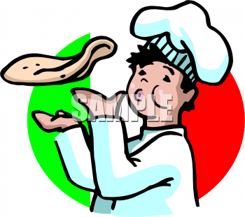 Pizza clipart pizza crust Of Guy of foodclipart Tossing