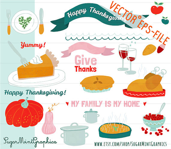 Pie clipart turkey food Wine Pumpkin Digital Sweet Food