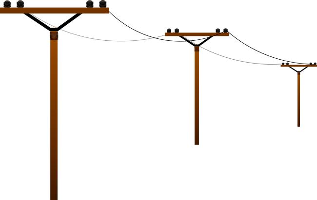 Line clipart power line Art Power Clipartix clip clipart