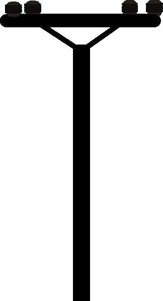 Line clipart power line Art  at vector Line