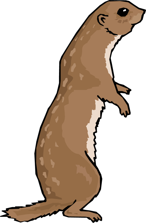 Prairie Dog clipart Art Art Dog Images Clip