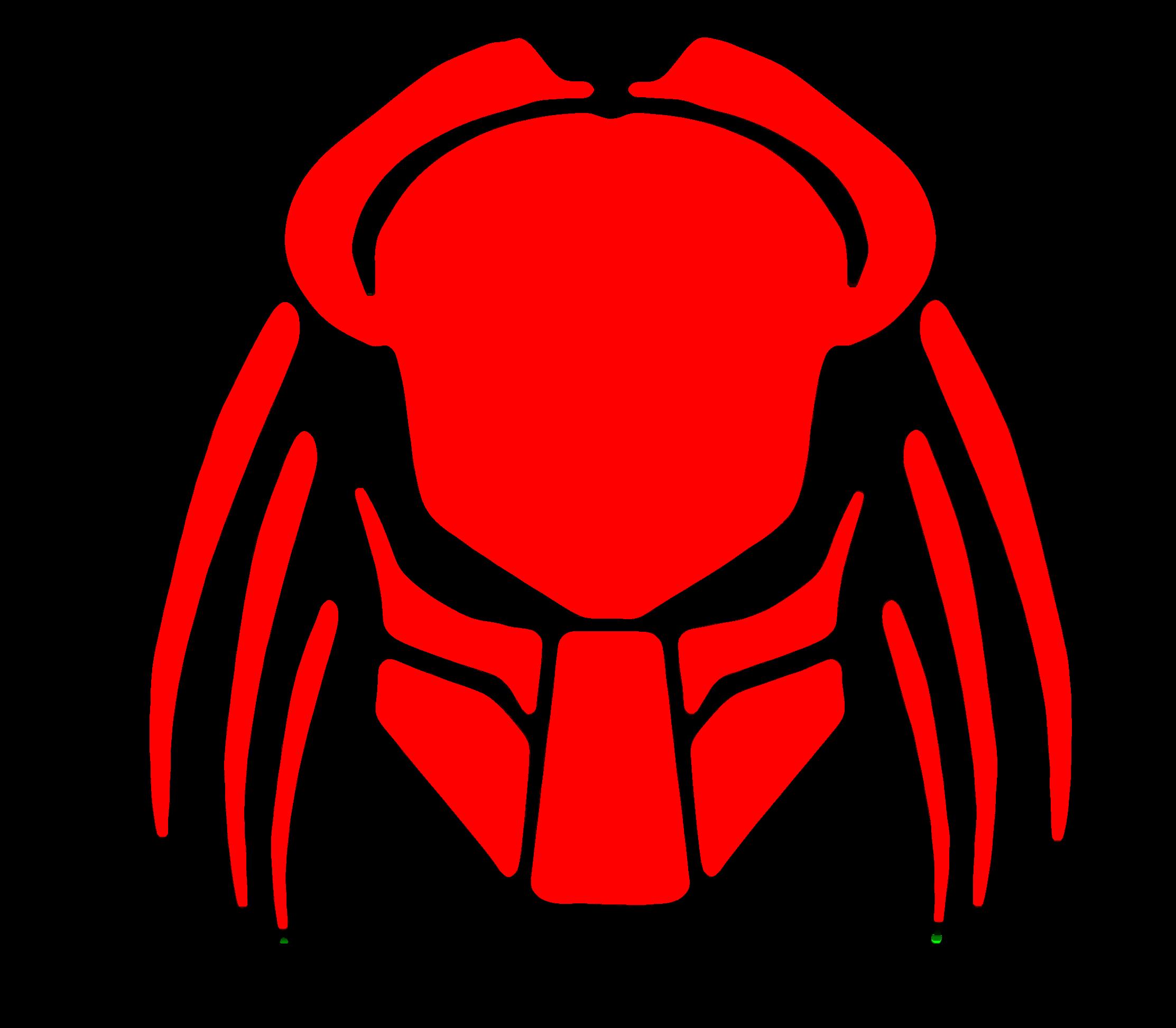 Predator clipart Red Cybergoth art  com