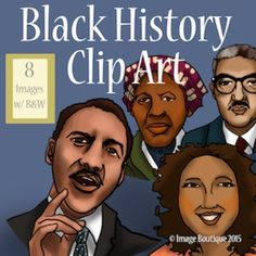 Us History clipart black history month / States The Presidents Clip