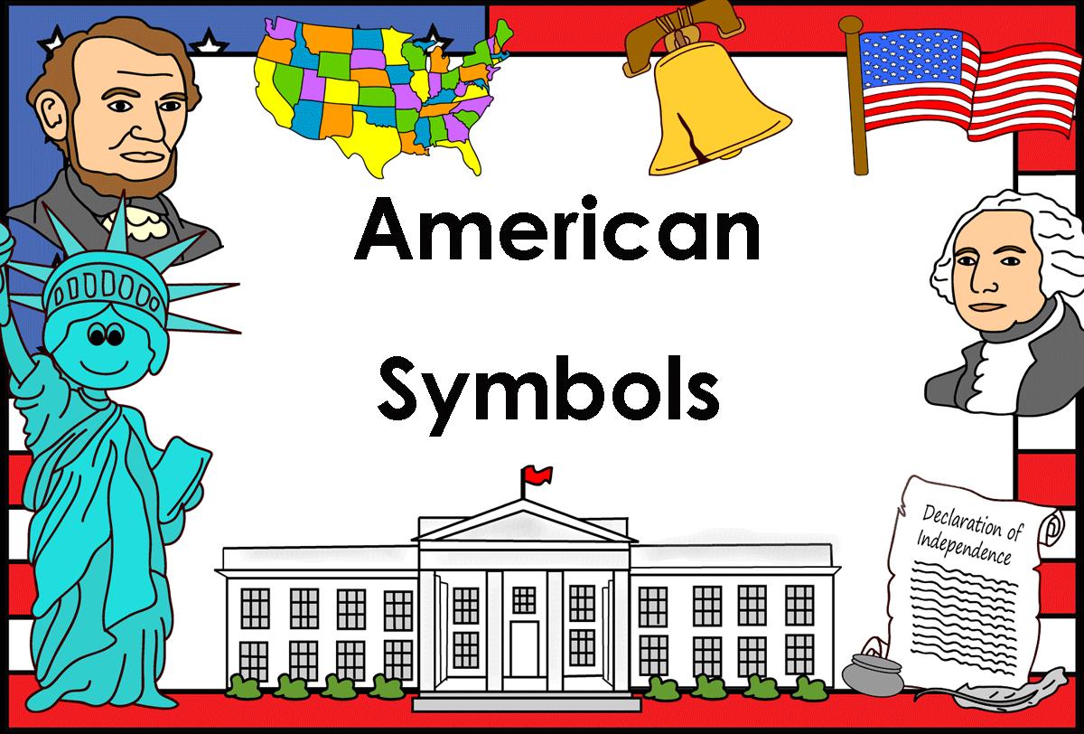 America clipart american symbol Art American Best Teacher Clip
