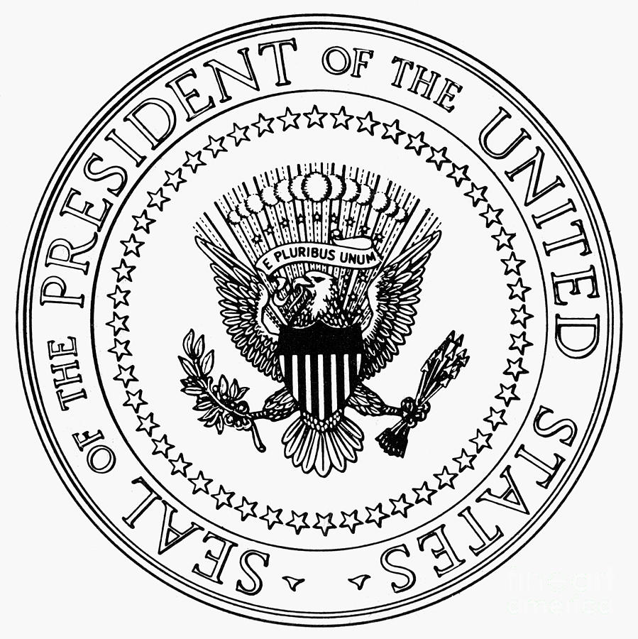 America clipart seal And white clipart black seal