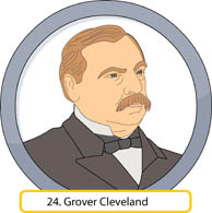 Presidents clipart cleveland #3