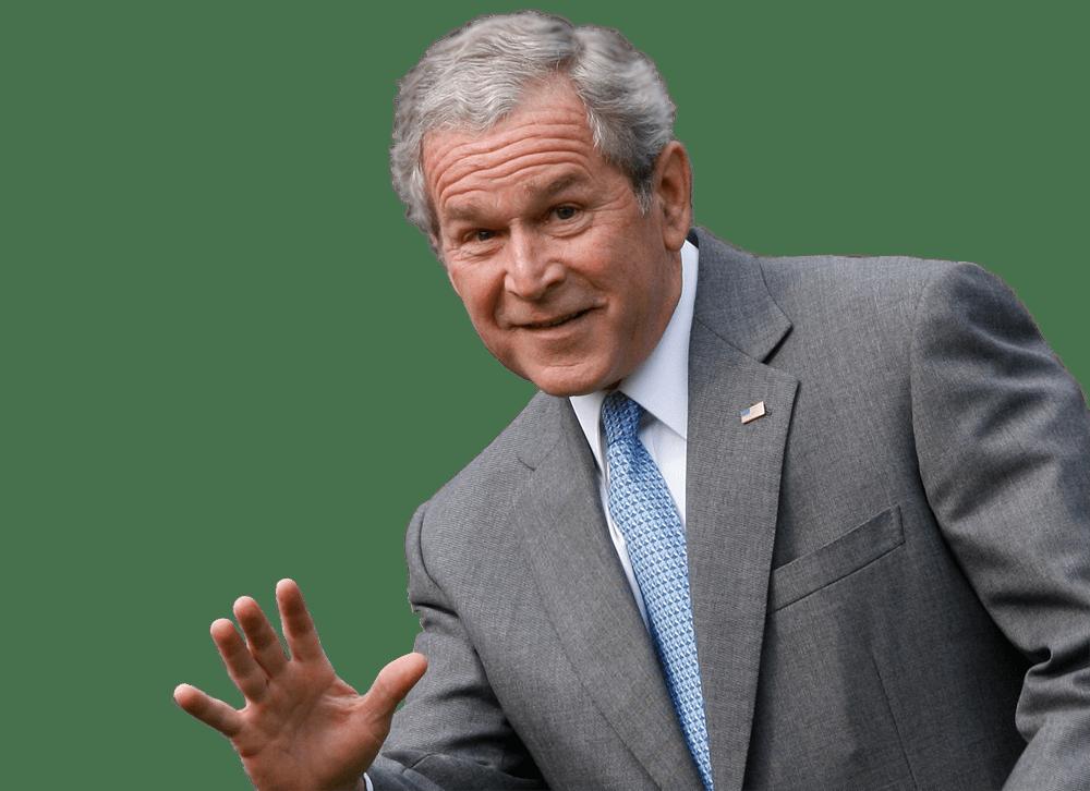 Presidents clipart george bush PNG W Bush President StickPNG