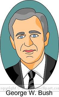 Presidents clipart george bush George : bush jpg American