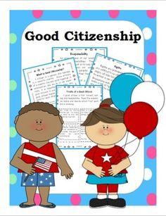Trash clipart good citizenship Good Citizen grade citizenship Citizenship