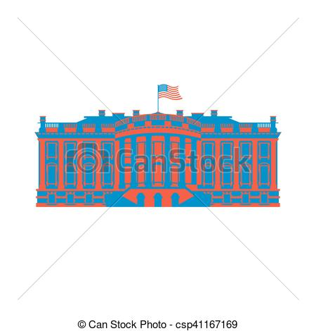 Presidents clipart government official White Art American Residence colored