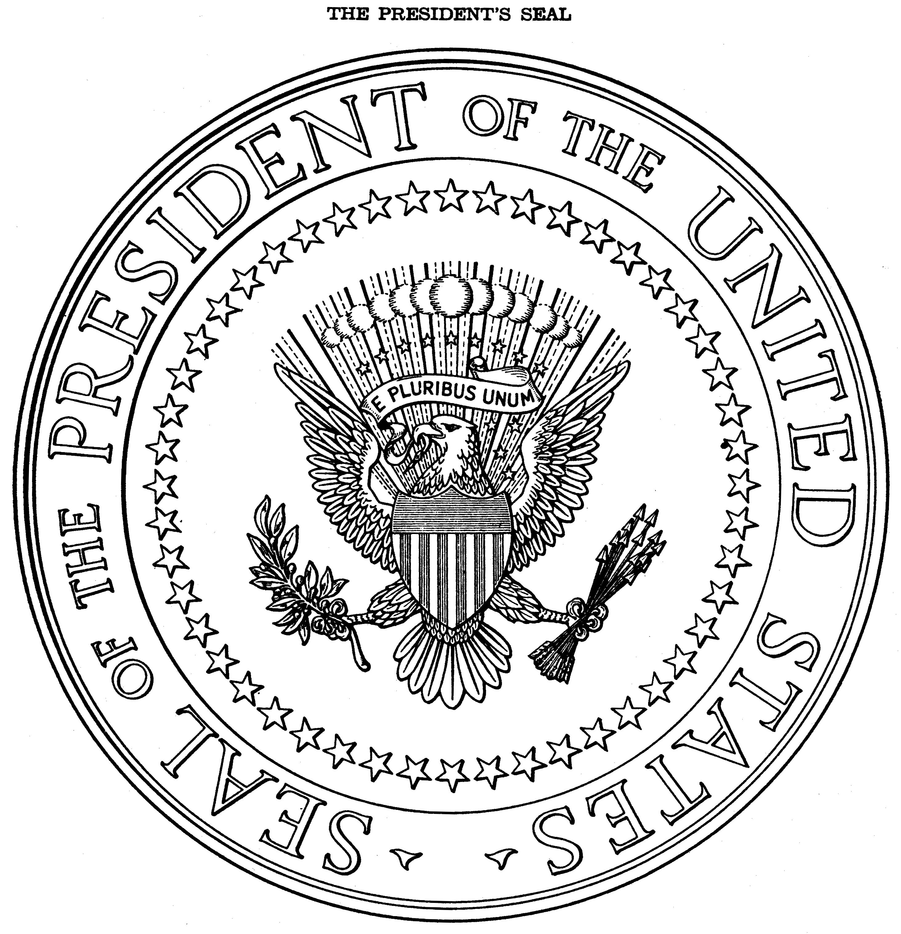 Presidents clipart government official S Clipart seals Clipart Us