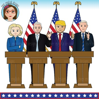 Presidents clipart government official 2016 Teachers English Candidates Art