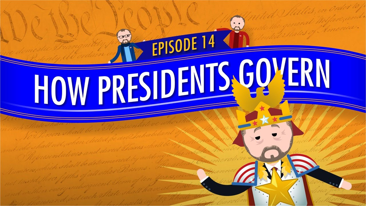 Presidents clipart government official Presidents Government Crash Course and