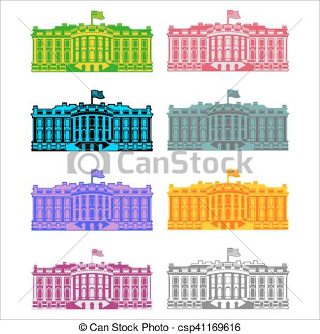 Presidents clipart government official House Vector Clip of icon