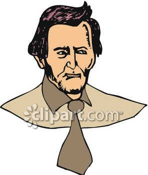 Presidents clipart historical figure American man Abe