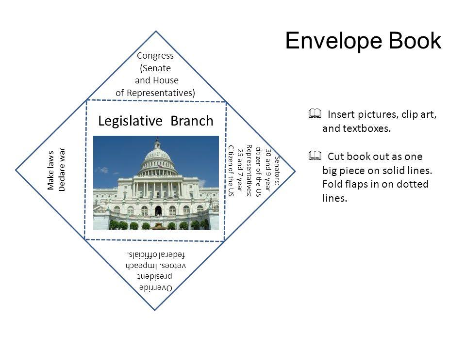 Presidents clipart house representatives Envelope Envelope  Insert and