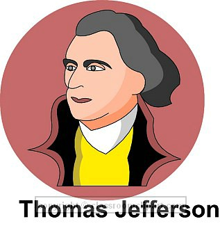 Presidents clipart jefferson Jefferson American thomas Clipart jefferson