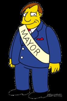 Political clipart city mayor Quimby Wikipedia Mayor Information