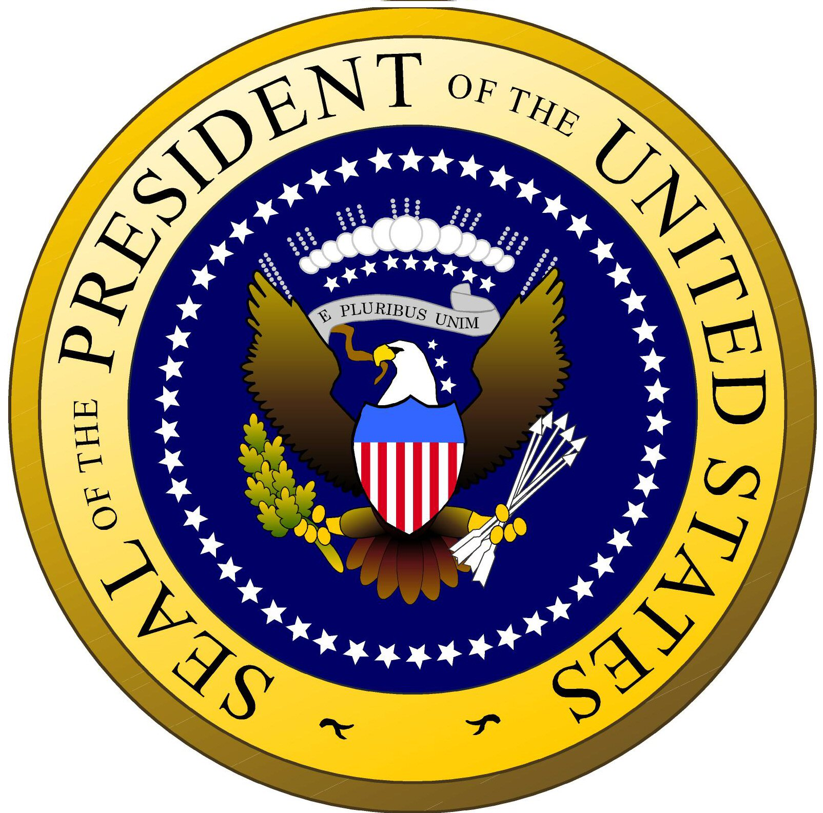 America clipart seal Seal Clipart The Presidential Symbol