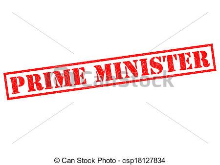 Presidents clipart prime minister Over white MINISTER Stock PRIME