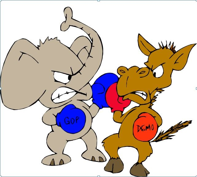 Battle clipart political power #1