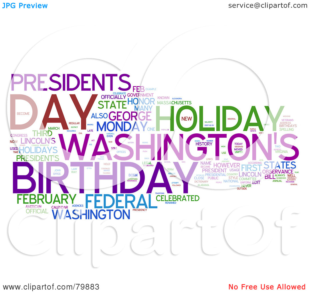 Presidents clipart the word Art Word Clipart Collage Clip