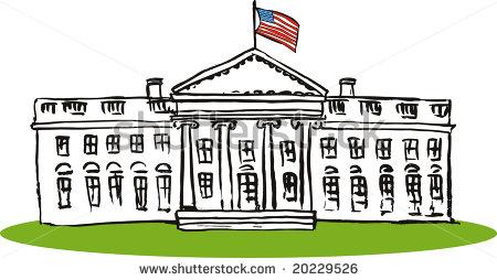 Building clipart white house The President Art House White
