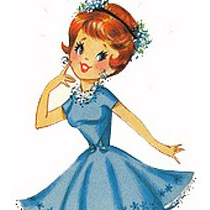 Pretty clipart Free lady Vintage For You