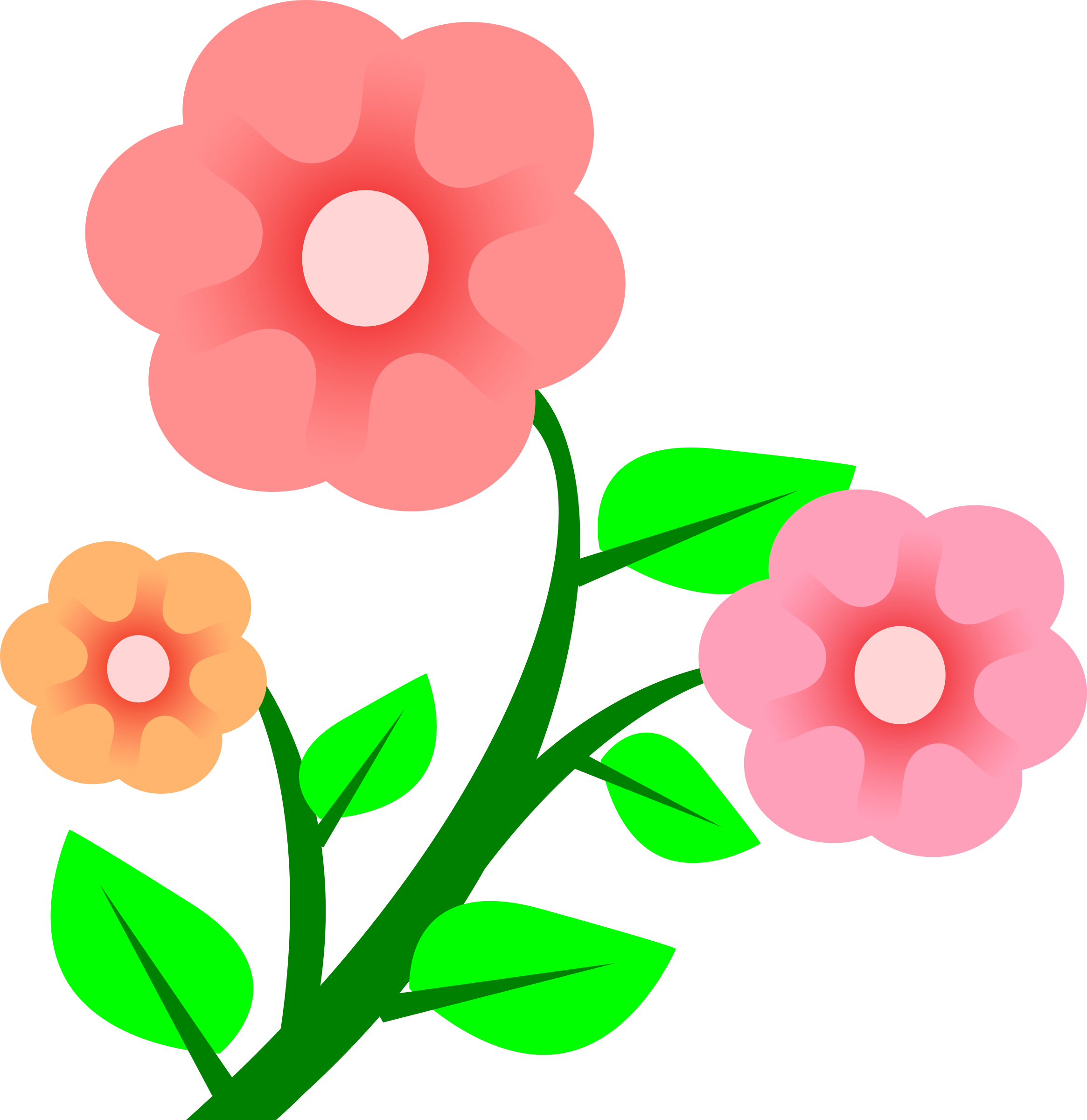 Petal clipart big flower Flowers Art Clip Flowers Flower