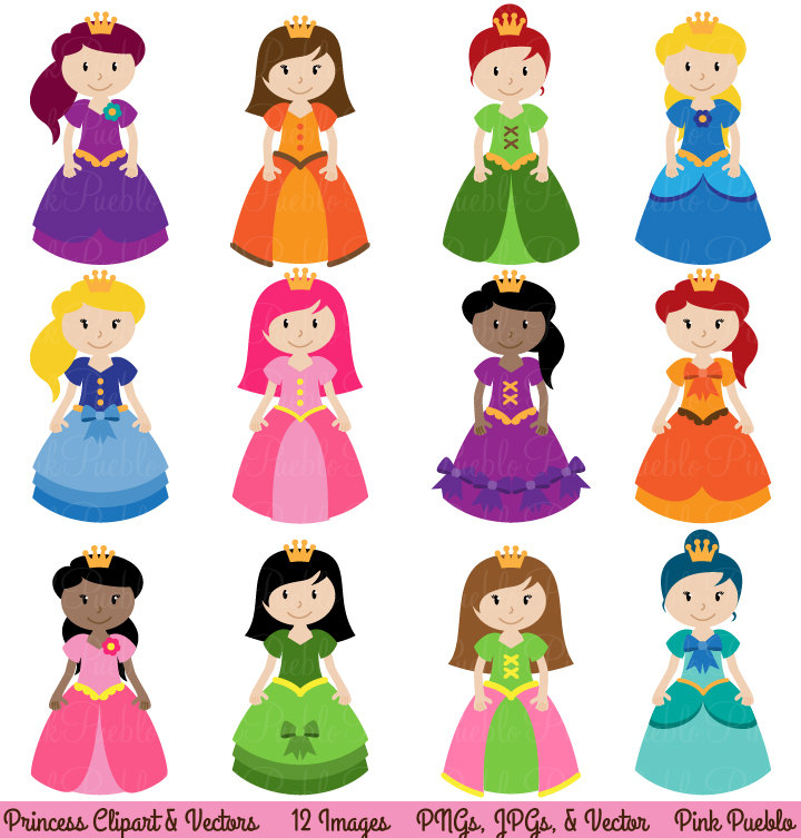 Princess clipart Art Fairytale and Clipart Princess