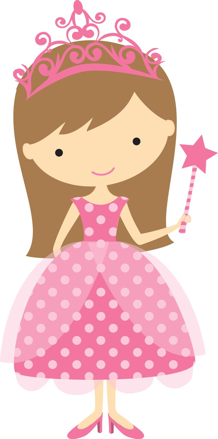 Beautiful clipart pink princess Princess free com kid free