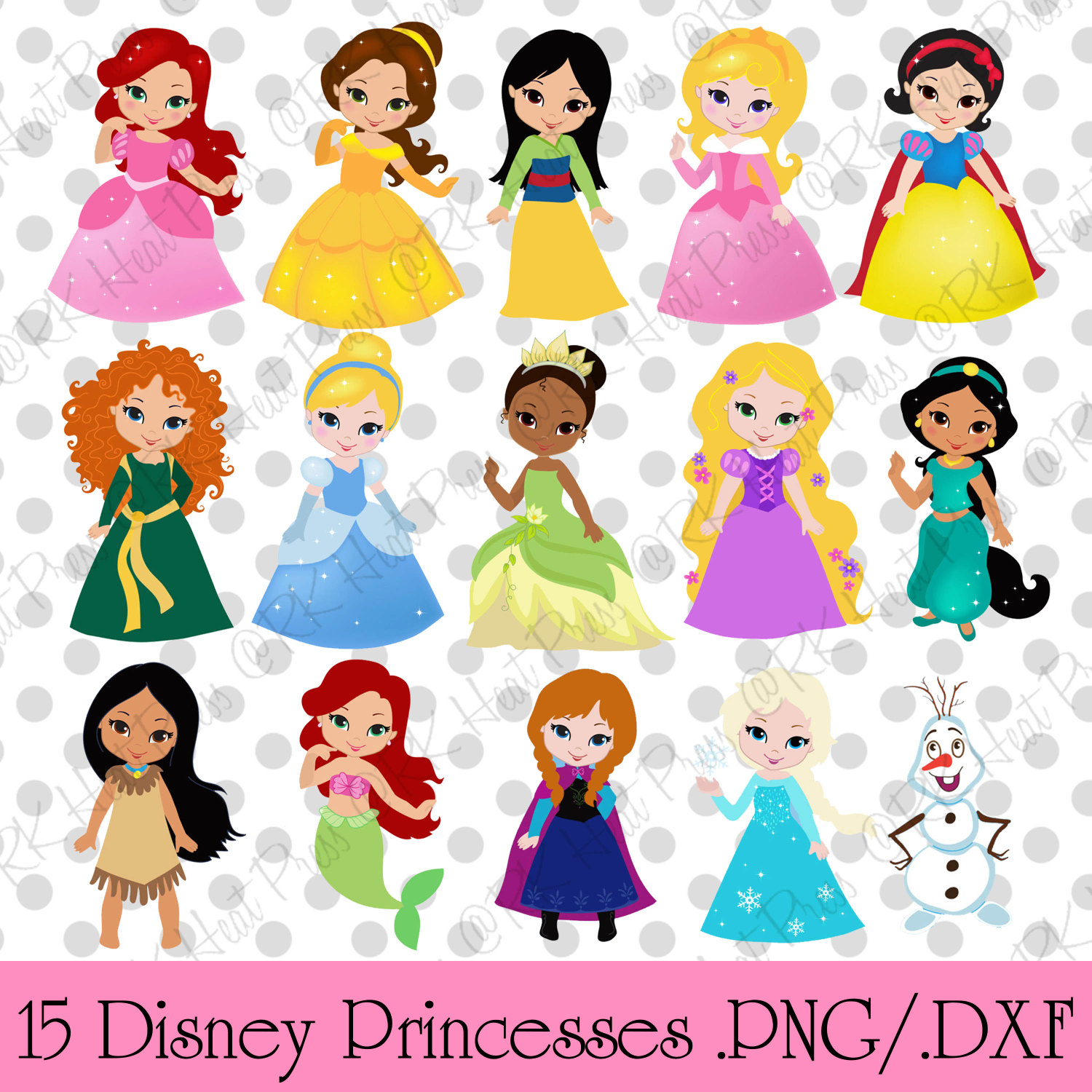 Beautiful clipart cute princess Princesa Princess Fairytale tarjetas 03