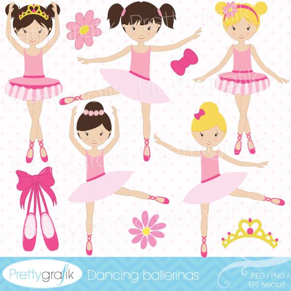 Ballet clipart cute ballerina Web for and ballerina cute
