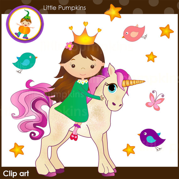 Princess clipart bird From clipart unicorn horse Butterfly