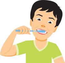 Brush clipart boy Dental Clipart Free Illustrations Clip