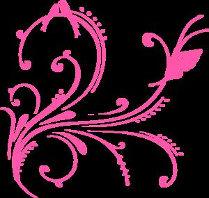Swirl clipart cute Png Flower Swirl (butterfly Cute