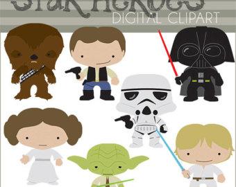 Luke Skywalker clipart baby Clipart Wars wars Commercial Heroes