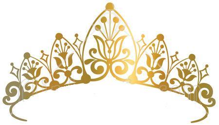 Princess clipart gold Crown Crown Princess clipart clipart