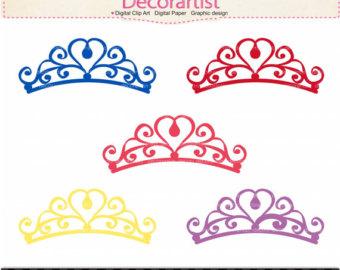 Princess clipart gold Tiara Clipart Free Gold Crown