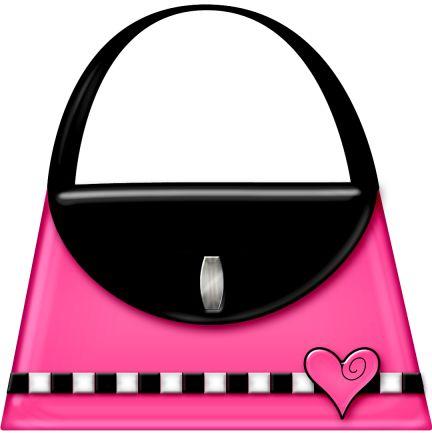 Shoe clipart handbag #5