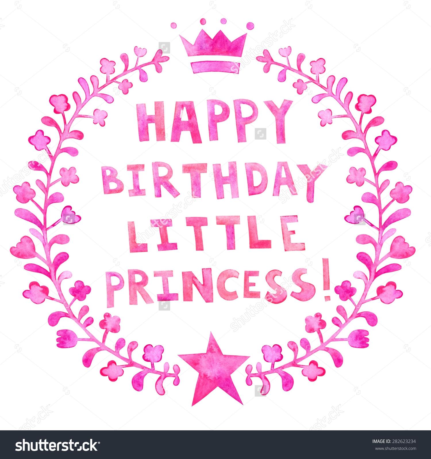 Birthday clipart princess Princess Happy Birthday Clipart Happy