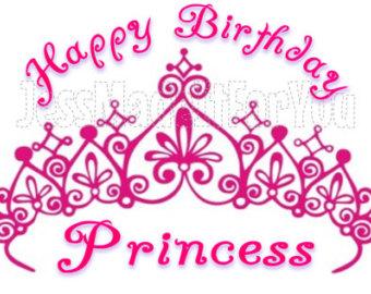 Birthday clipart princess Princess Happy Cute Birthday Images