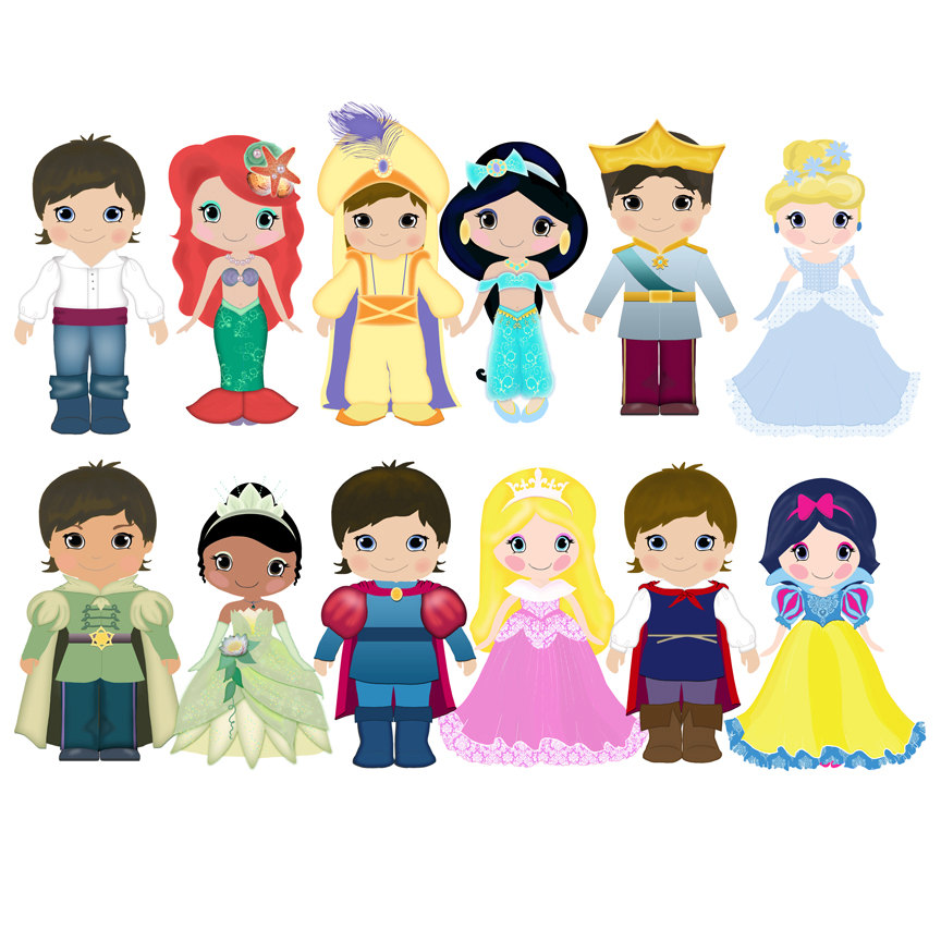 Small clipart prince Find Cute  Princess Little