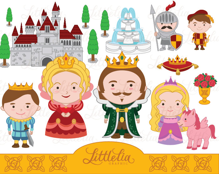Princess clipart king and queen #1