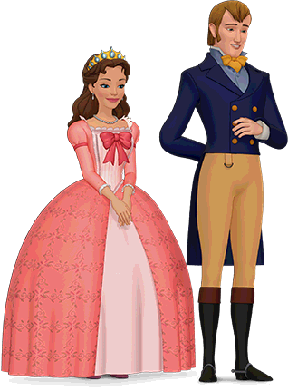 Princess clipart king and queen #10