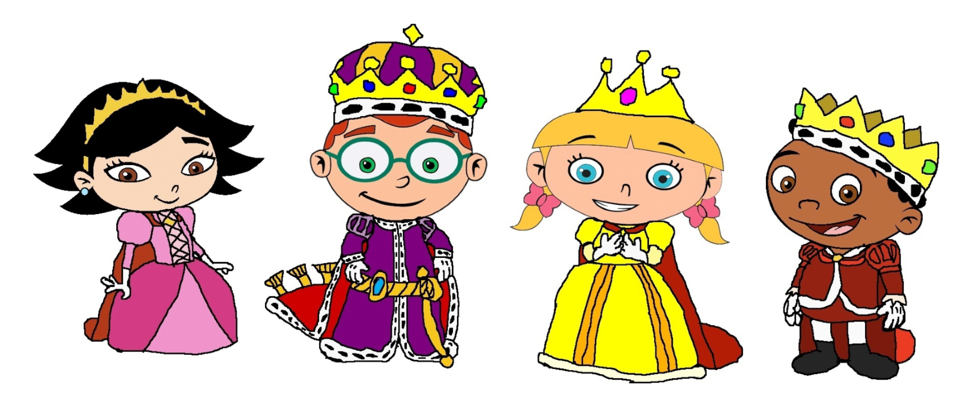 Princess clipart king and queen #8