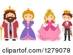 Princess clipart king and queen #4