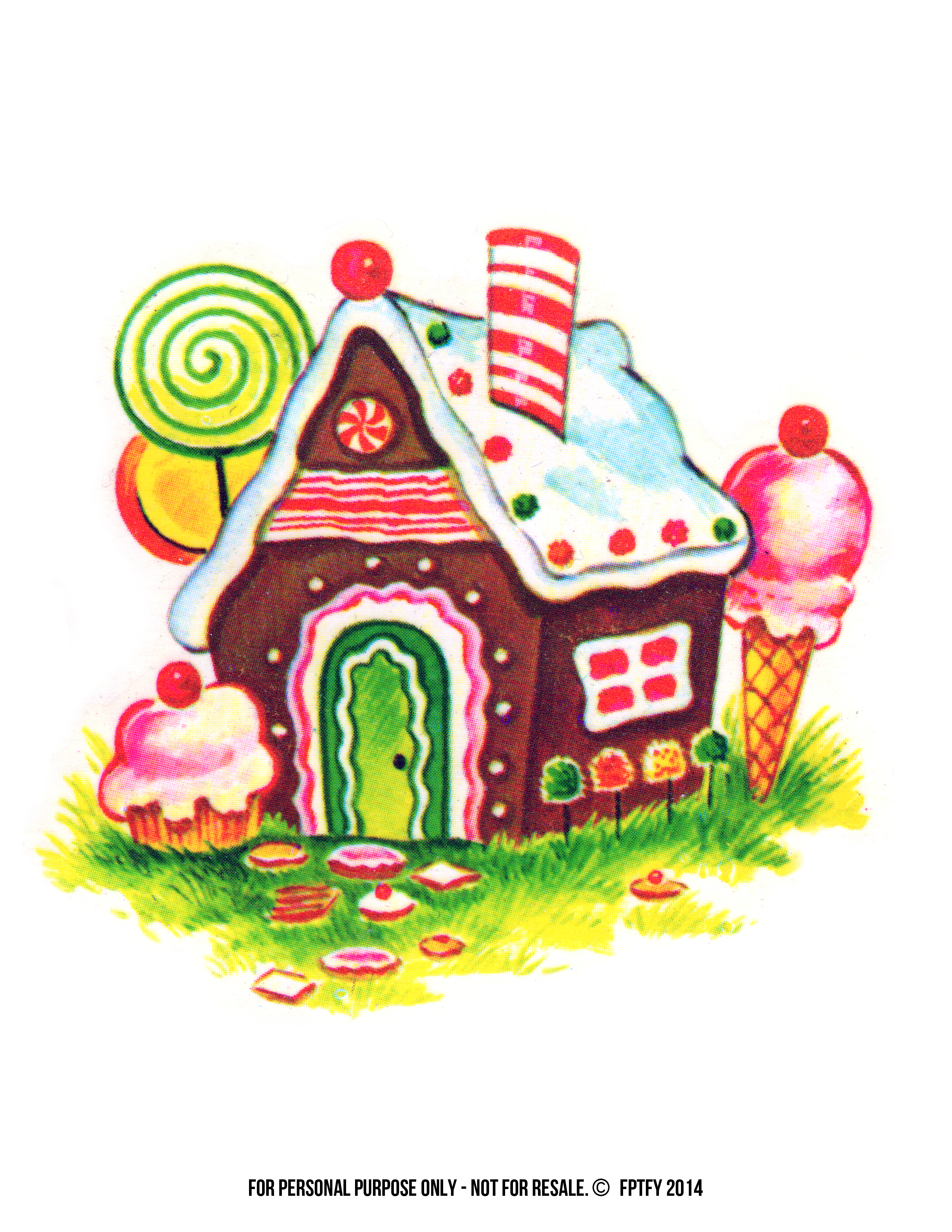 Bungalow clipart pretty house Collection House Gingerbread clipart Christmas