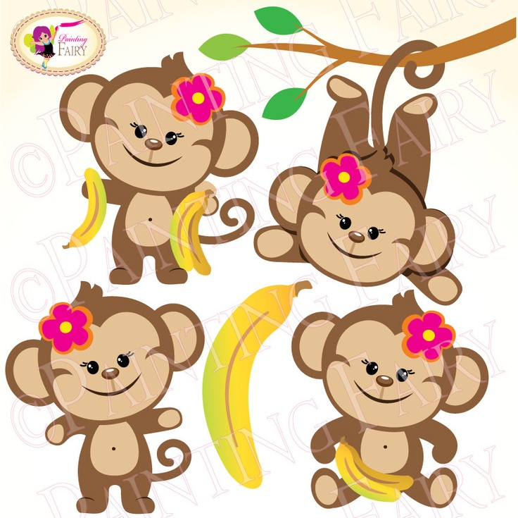 Mouse clipart cute monkey On images use clipart Monkeys