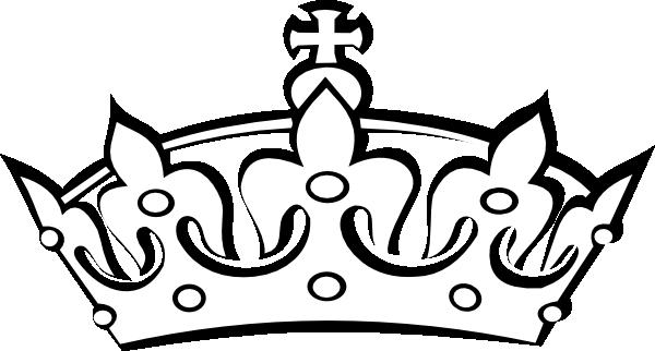 White clipart princess crown Vector art  Free free